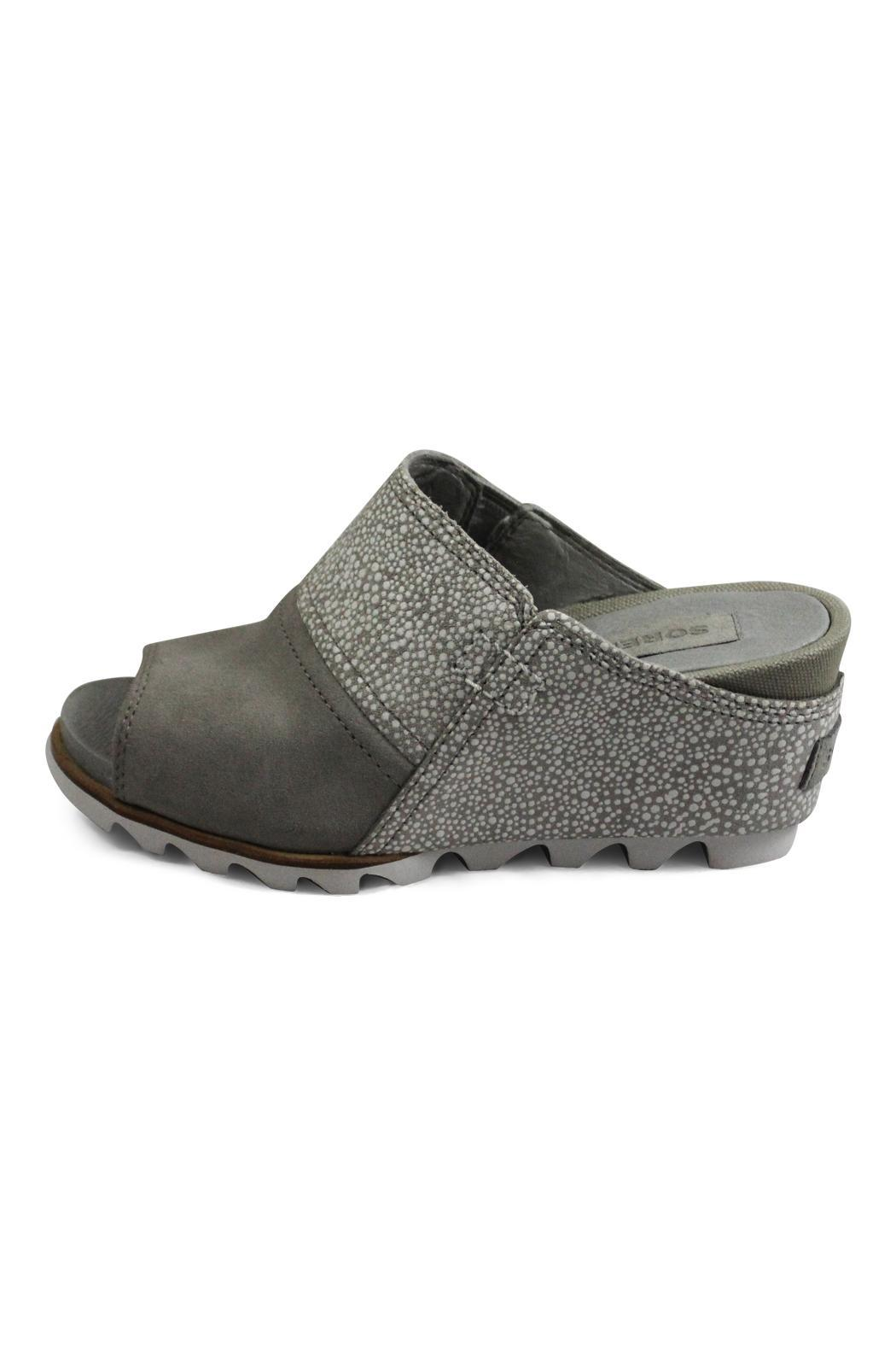 Sorel Grey Wedge Sandal - Main Image