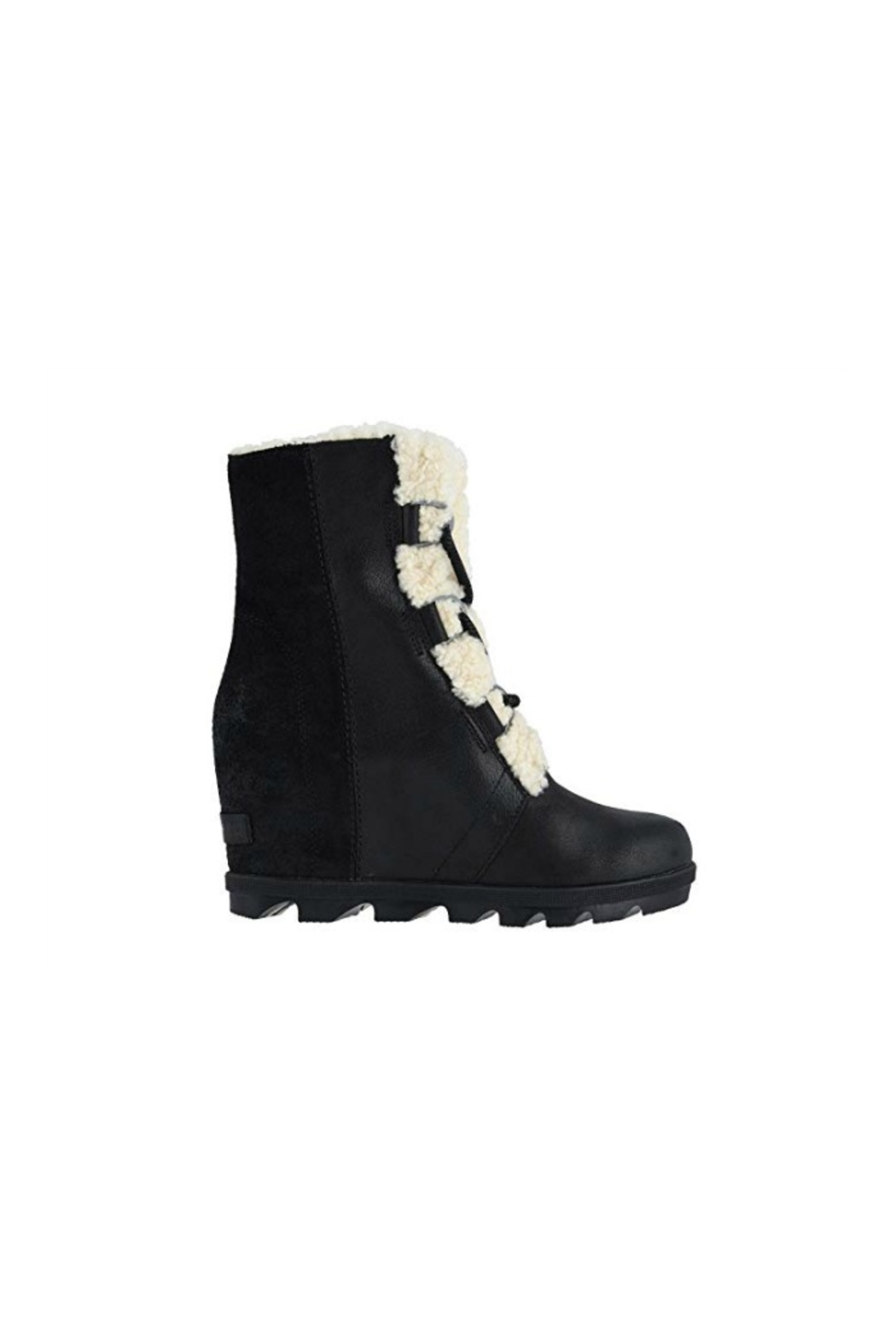Sorel Joan of Arctic Wedge Shearling Boot - Front Cropped Image