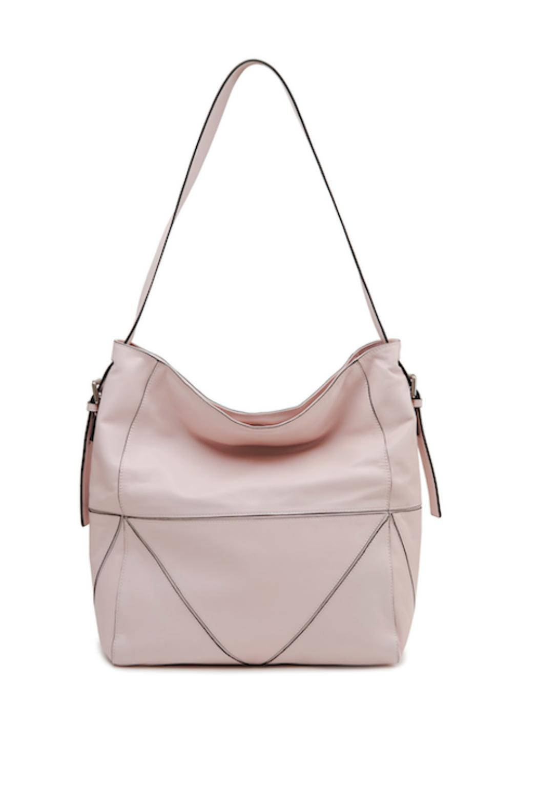 Sorial Candace Leather Tote - Front Cropped Image