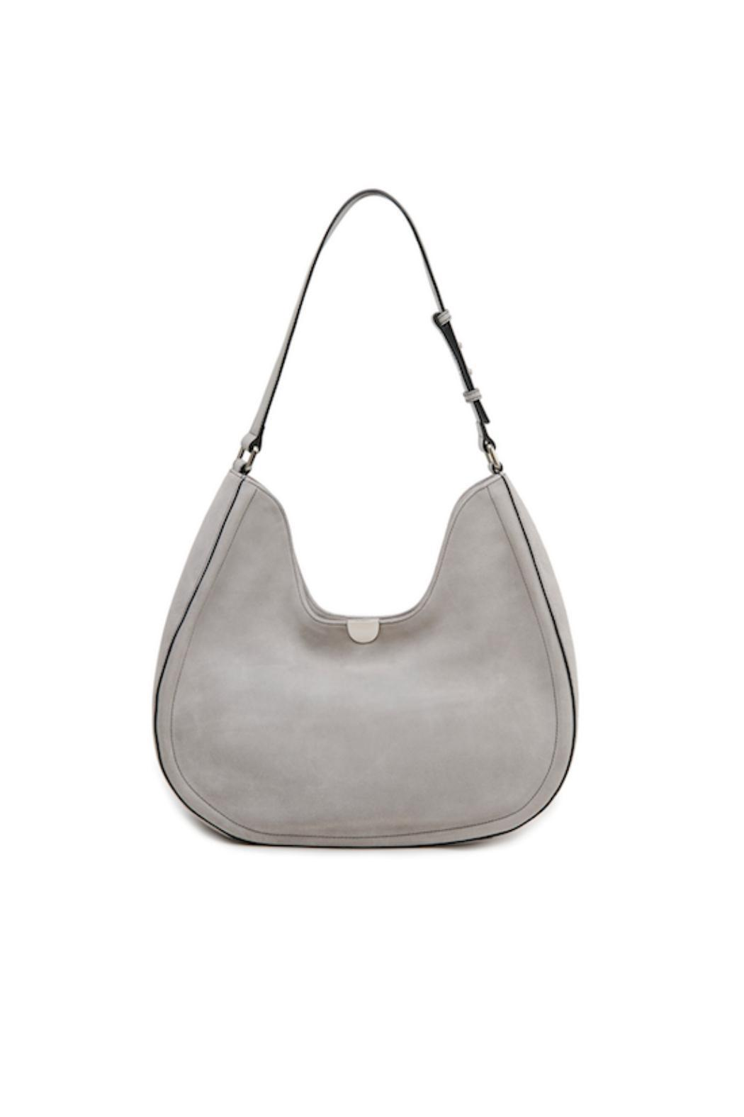 Sorial Suede Classic Hobo Bag - Main Image