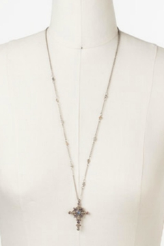 Shoptiques Product: Celestial Cross Pendant