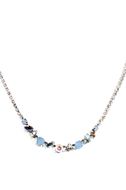 Sorrelli Cherished Tennis Necklace - Front cropped