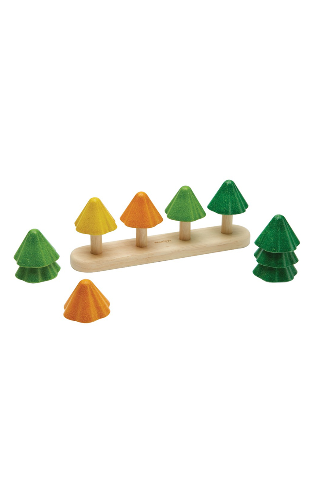 Plan Toys Sort & Count Tree - Front Full Image