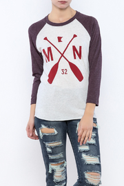 Sota Clothing Co. The Karin Raglan Tee - Product Mini Image