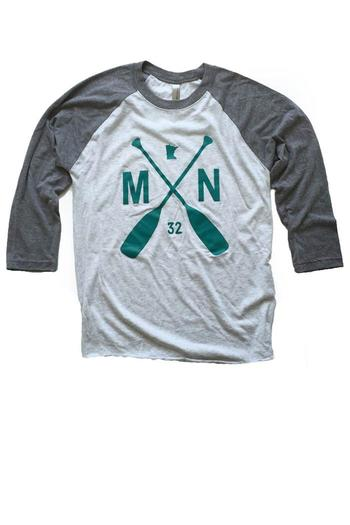 Sota Clothing Co Mn Paddle Tee From Minnesota By General