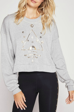 SPIRITUAL GANGSTER Soul Cropped Oversized Sweatshirt - Alternate List Image