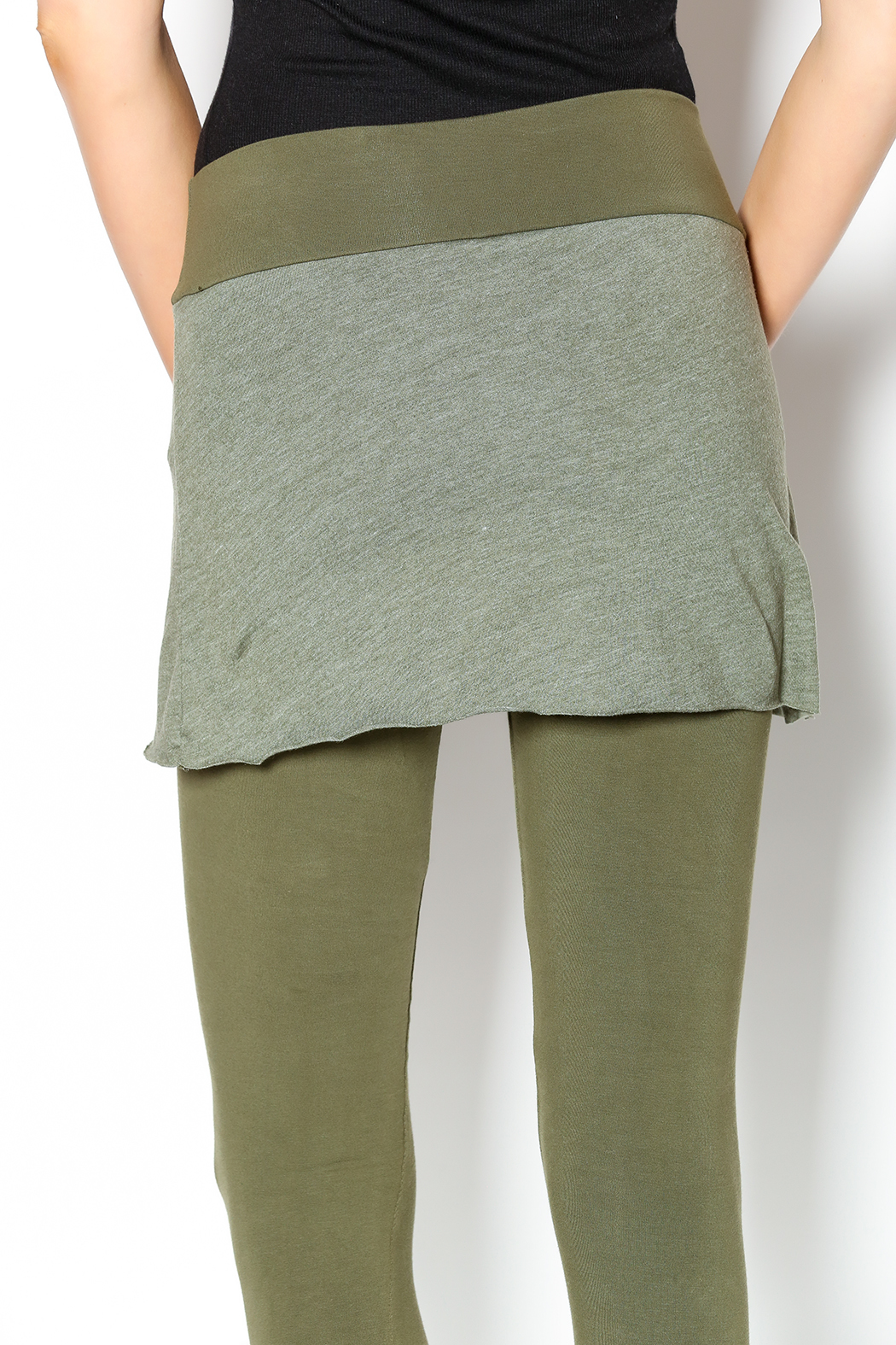 Soul Flower Skirted Legging from Canada by Real Spirit Apparel — Shoptiques