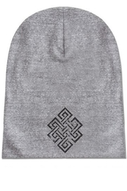 Soul Flower Eco Beanie - Front cropped