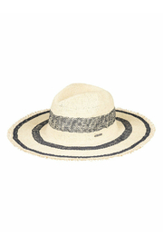 Roxy Sound of the Ocean Straw Hat - Front cropped