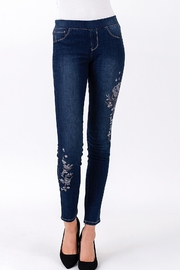 Sound Style by Beau Dawson Pullon Embroidered Legging - Product Mini Image