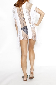 LA Class South beach string swimsuit cover up - Alternate List Image