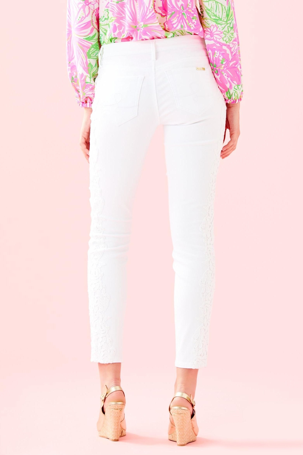 Lilly Pulitzer South Ocean Pant - Front Full Image