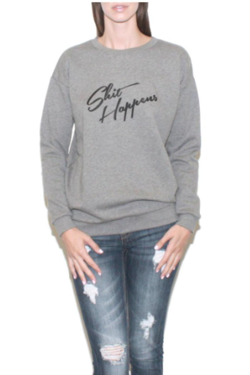 South Parade Boyfriend Sweatshirt - Front Cropped Image