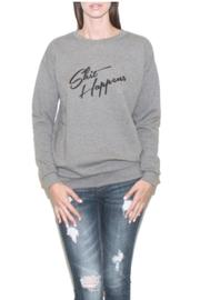 South Parade Boyfriend Sweatshirt - Front cropped
