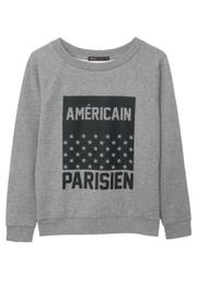 South Parade Raglan Sweatshirt Americain - Product Mini Image