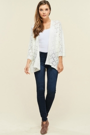 Staccato Southern Bell Blouse - Front cropped