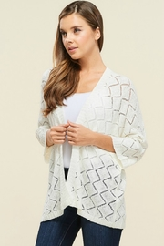 Staccato Southern Bell Blouse - Front full body