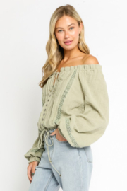 Olivaceous  Southern Charm - Front full body