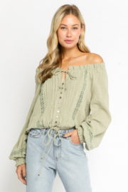 Olivaceous  Southern Charm - Front cropped