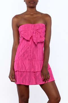 Southern Frock Pink Positano Dress - Product List Image