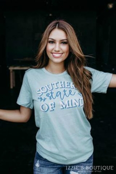 Izzie's Boutique Southern Graphic Tee - Product List Image