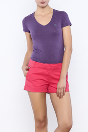 Southern Marsh  Caroline V-Neck Tee - Product Mini Image
