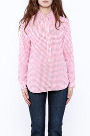 Southern Tide Gingham Button-Down Top - Side cropped