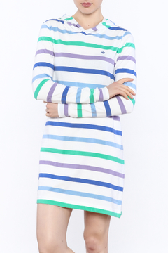 Shoptiques Product: Hooded Striped Dress