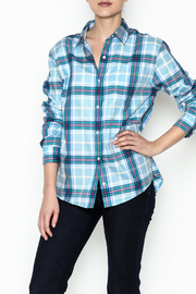 Southern Tide Plaid Button Up Top - Product Mini Image