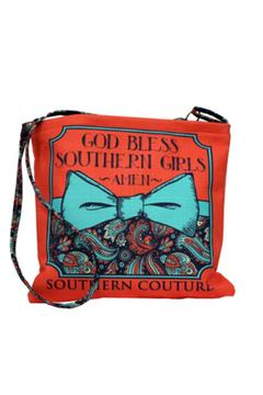 Southern Couture Burlap Cross Body - Alternate List Image