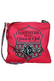 Southern Couture Burlap Cross Body - Product Mini Image