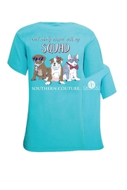 Southern Couture Southern Ain't-Nobody-Messin-With-My-Squad Tee - Front cropped