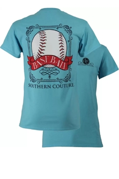 Southern Couture Southern Baseball Tee - Alternate List Image