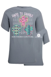 Southern Couture Southern Hard-To-Handle Tee - Product Mini Image
