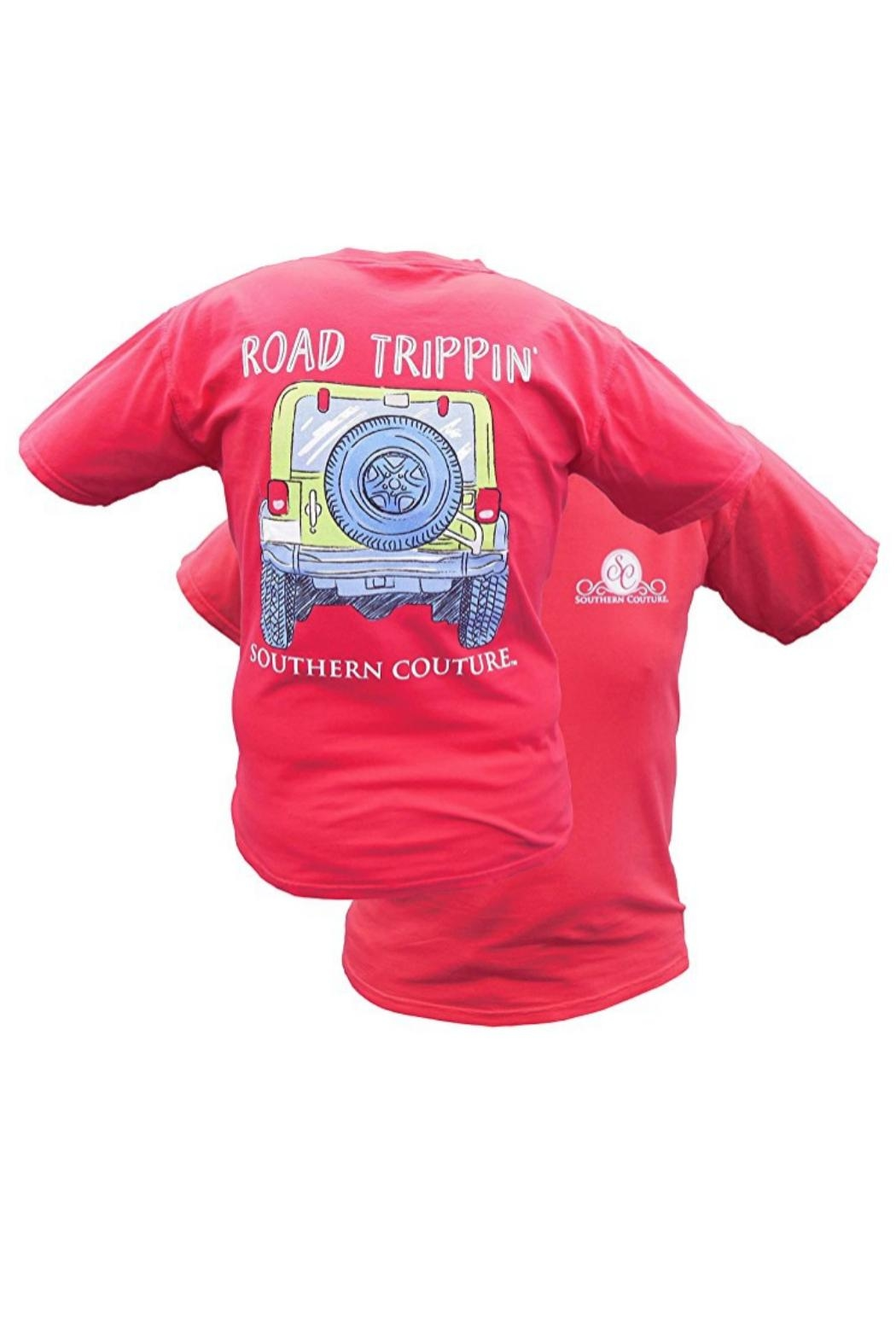 Southern Couture Southern Road-Trippin Tee - Main Image
