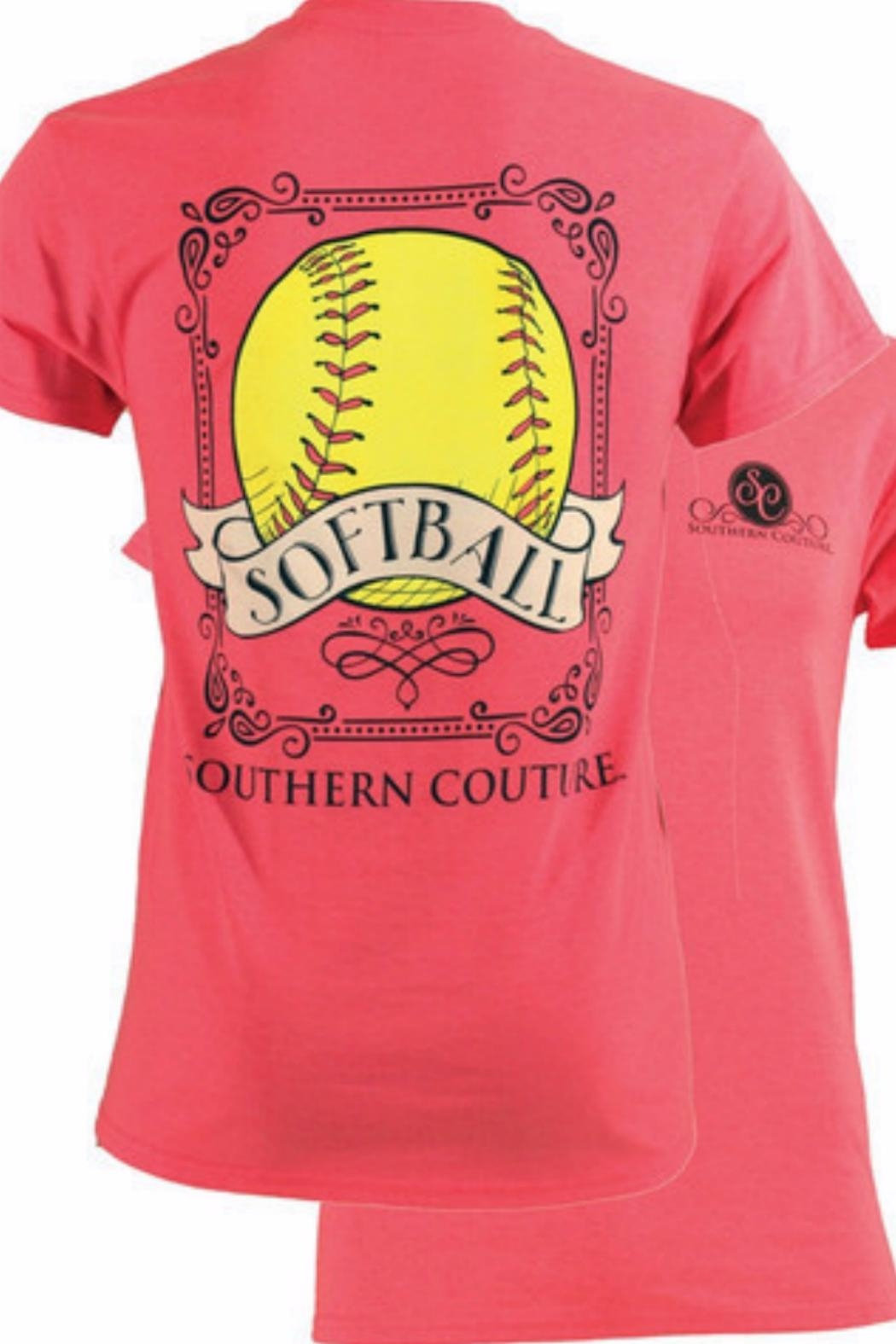 Southern Couture Southern Softball T - Main Image