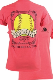 Southern Couture Southern Softball T - Product Mini Image