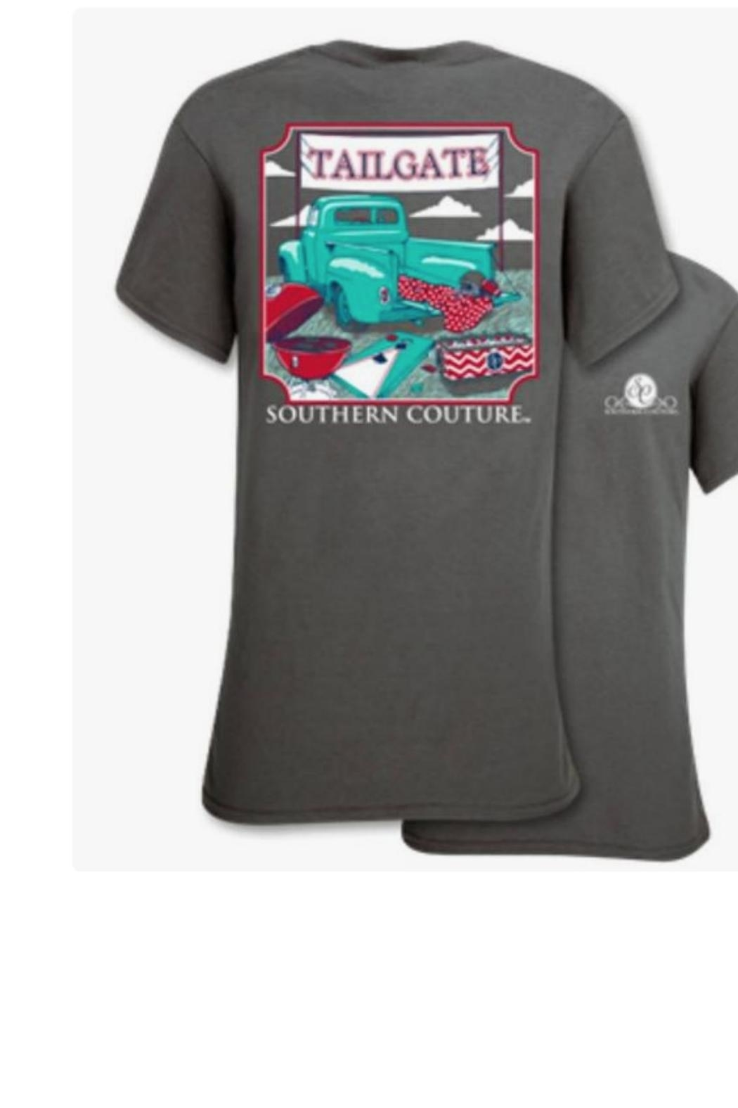 Southern Couture Tailgate Southern Tee - Main Image