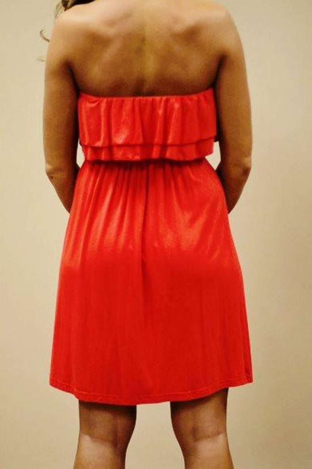Southern Frock Tortuga Doubleruffle Dress - Front Full Image