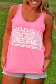 Southern Marsh  Southernmarsh Party Tank - Front cropped