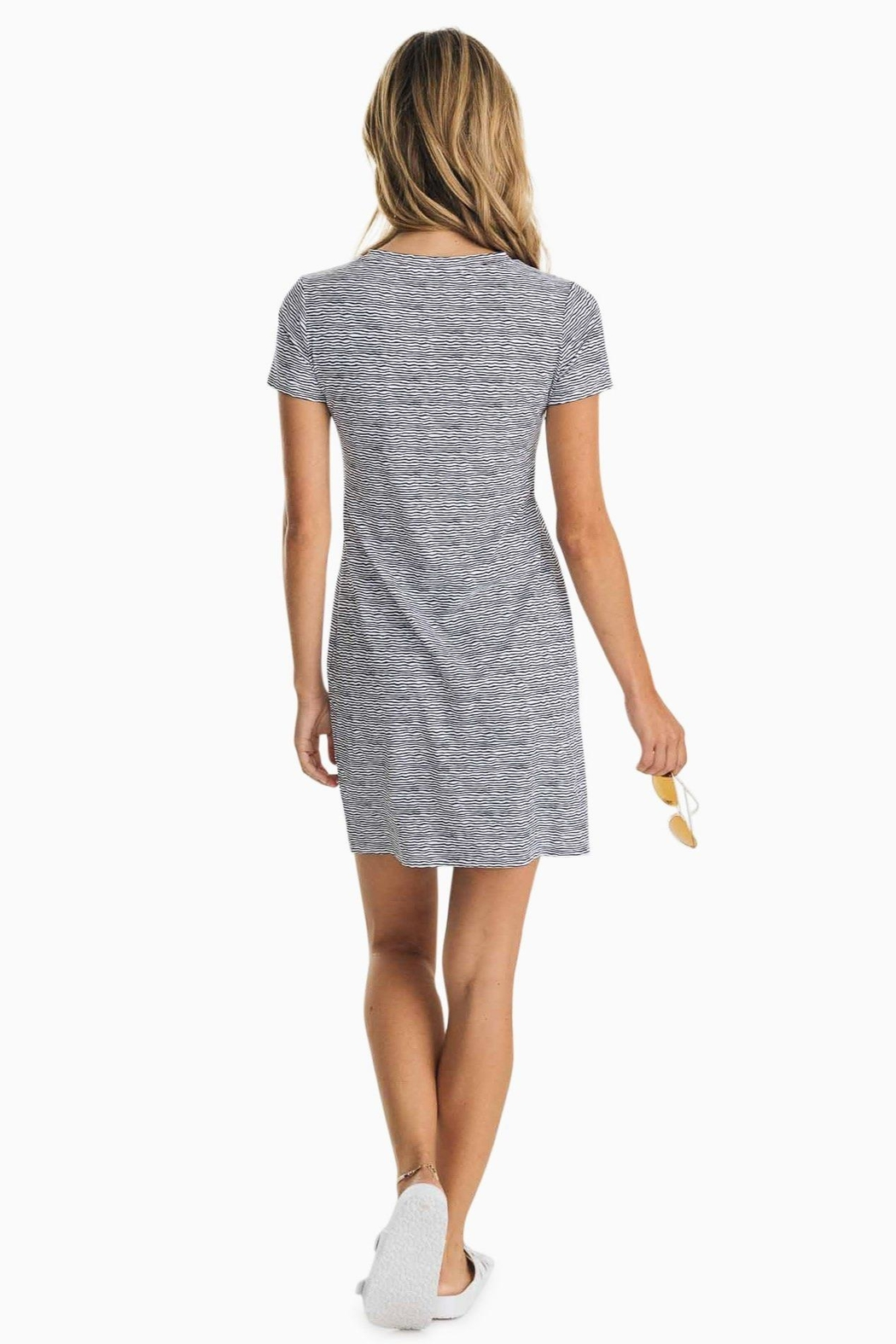 Southern Tide Amelia Performance Dress - Front Full Image