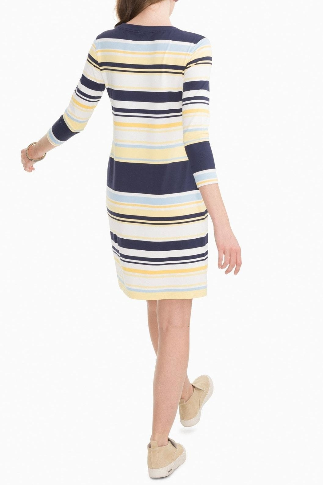 Southern Tide Camille Performance Dress - Front Full Image
