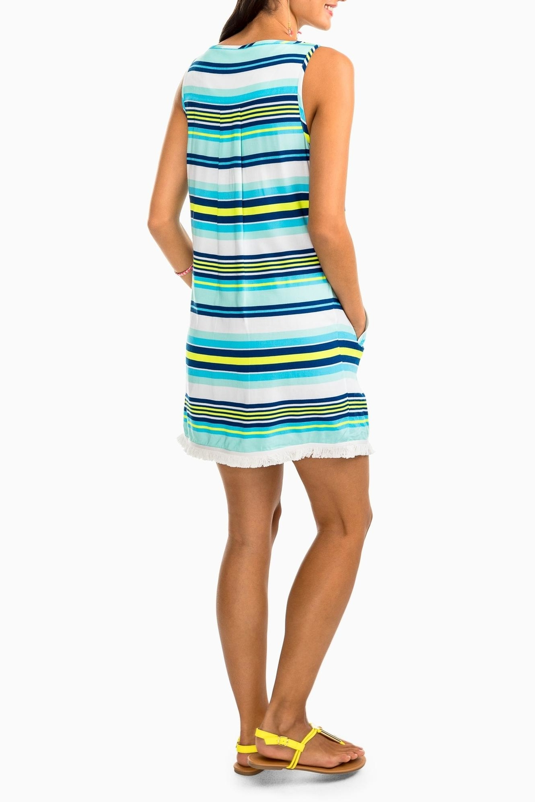 Southern Tide Corrine Stripe Dress - Side Cropped Image