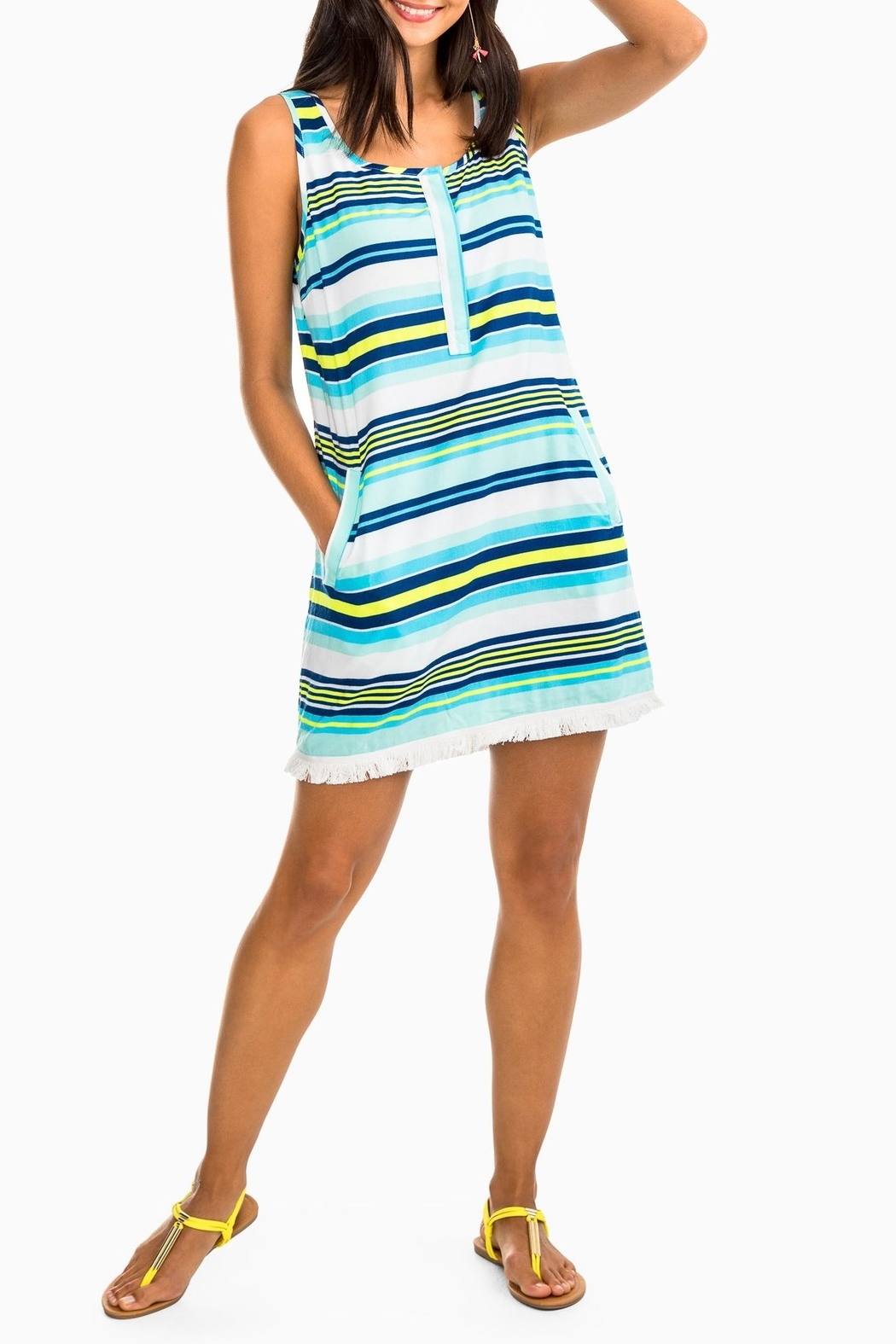 Southern Tide Corrine Stripe Dress - Main Image
