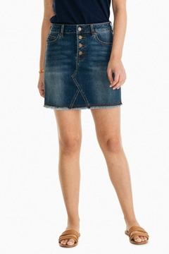 Southern Tide Gabriela Denim Skirt - Product List Image