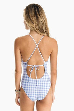 Southern Tide Gingham One-Piece Swimsuit - Alternate List Image