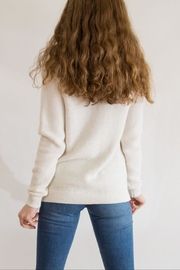 Southern Tide Gold Flecked Crewneck - Side cropped