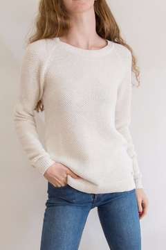 Southern Tide Gold Flecked Crewneck - Product List Image