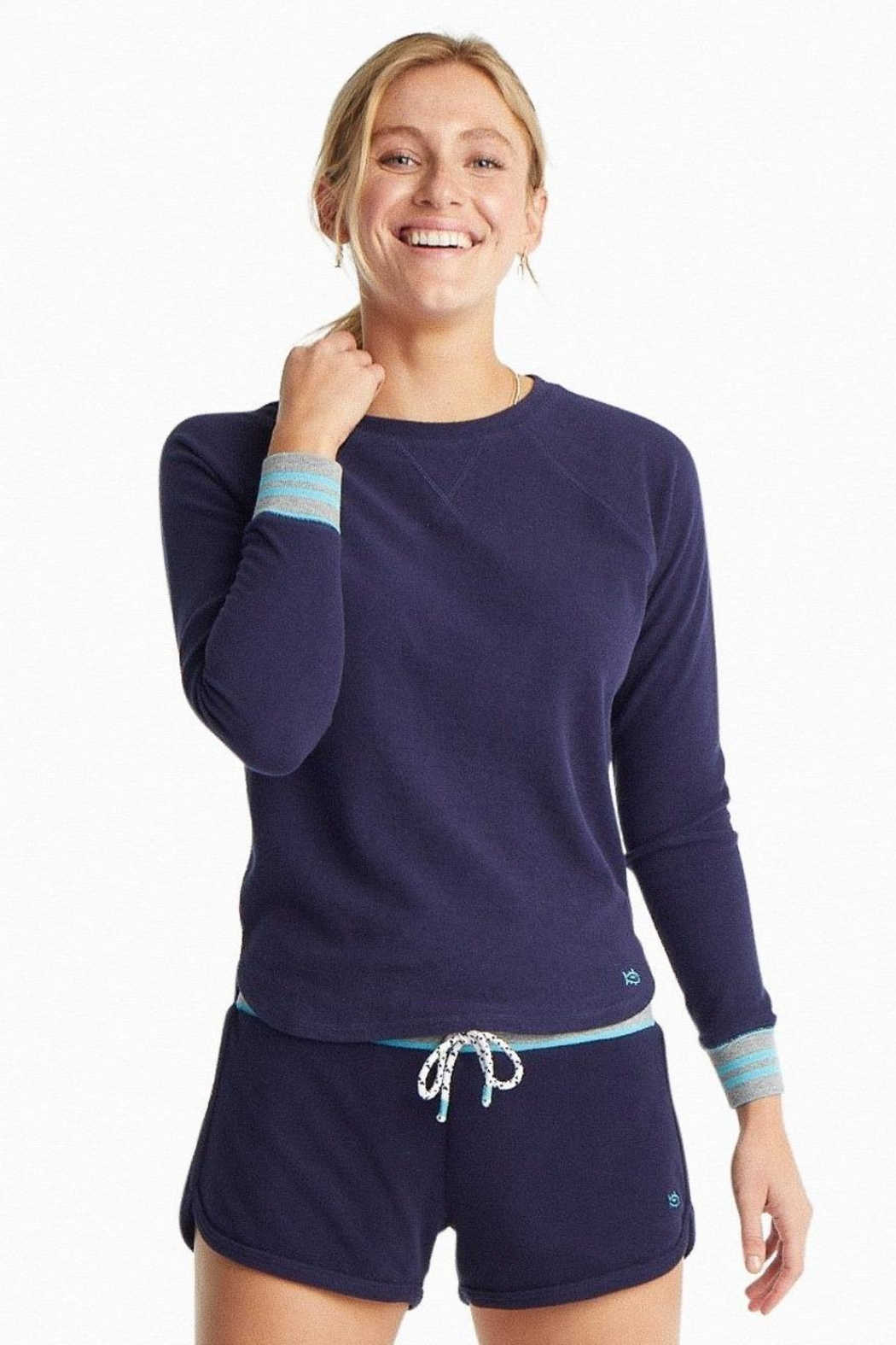 Southern Tide Hayden Crew Pullover - Front Cropped Image