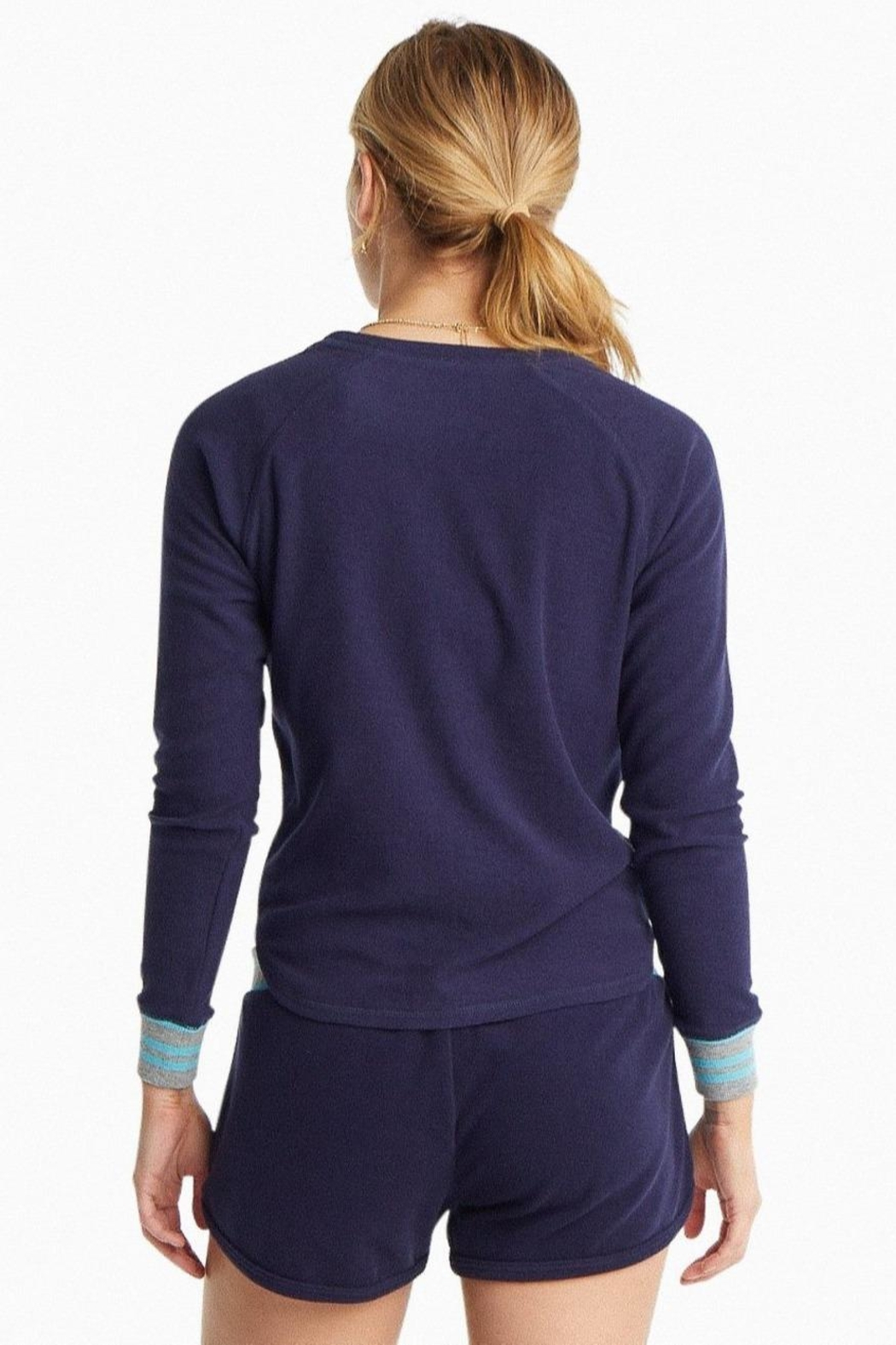 Southern Tide Hayden Crew Pullover - Back Cropped Image
